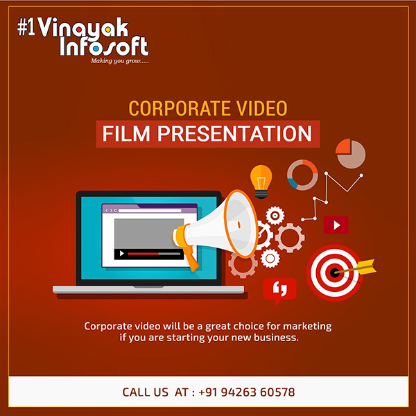 Corporate Promotional Video Maker/Production for Business Ahmedabad